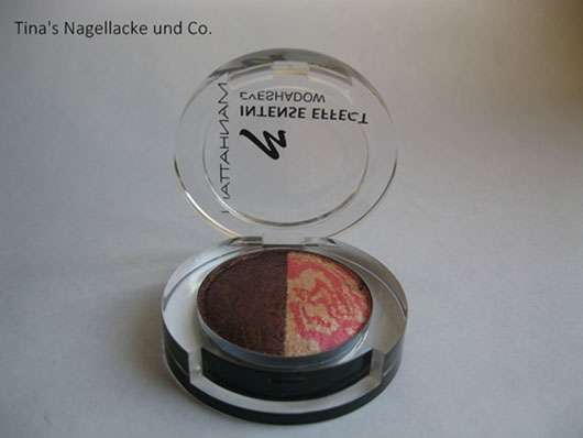 Manhattan Intense Effect Eyeshadow, Farbe: 96N/53D Peach Party