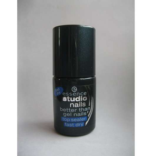 essence studio nails better than gel nails top sealer (fast dry)