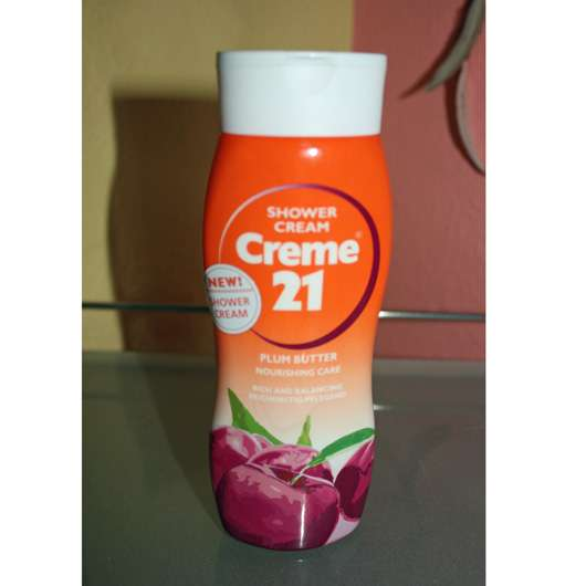 <strong>Creme 21</strong> Shower Cream Plum Butter Nourishing Care