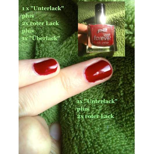 p2 last forever nail polish, Farbe: 110 dating time