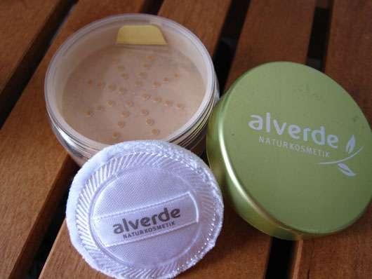 test puder alverde mineral puder farbe 02 natural testbericht von sisterventure. Black Bedroom Furniture Sets. Home Design Ideas