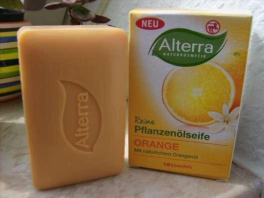 Alterra Reine Pflanzenölseife Orange