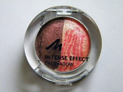 Produktbild zu MANHATTAN Candy Rockers Intense Effect Duo Eyeshadow – Farbe: 96N/53D Peach Party