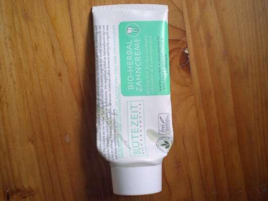 Blütezeit Bio-Herbal Zahncreme