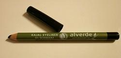 Produktbild zu alverde Naturkosmetik Kajal Eyeliner – Farbe: 01 Schwarz