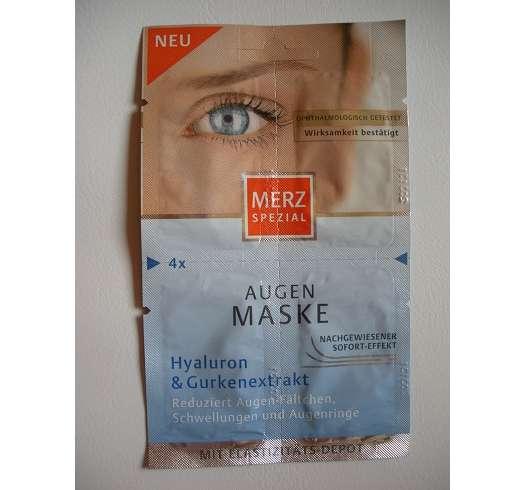 Merz Spezial Augen Maske Hyaluron & Gurkenextrakt