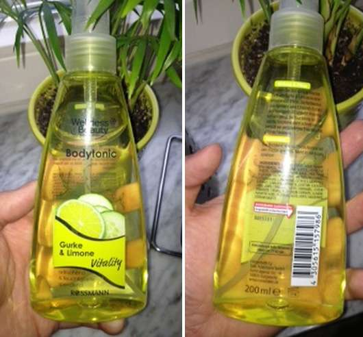 Wellness & Beauty Bodytonic Gurke & Limone