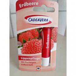 Produktbild zu CV CadeaVera Lippenpflege Erdbeere