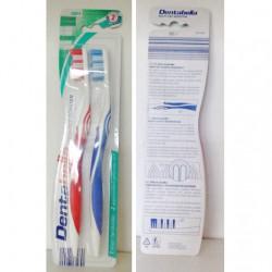 Produktbild zu Dentabella Hoch-Tief-Borsten Zahnbürste