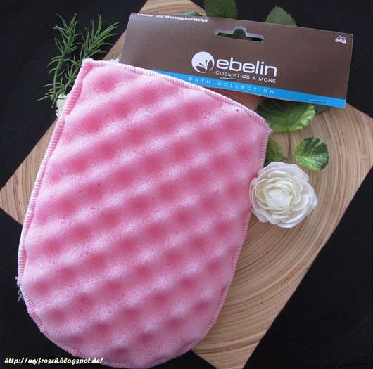 ebelin Fitness- und Massagehandschuh (in Pink)