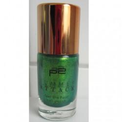Produktbild zu p2 cosmetics summer attack feel the heat nail polish – Farbe: 050 green palm tree (LE)