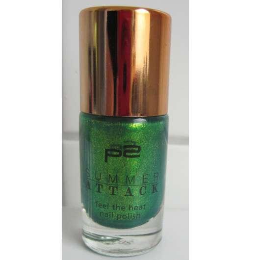 p2 summer attack feel the heat nail polish, Farbe: 050 green palm tree (LE)