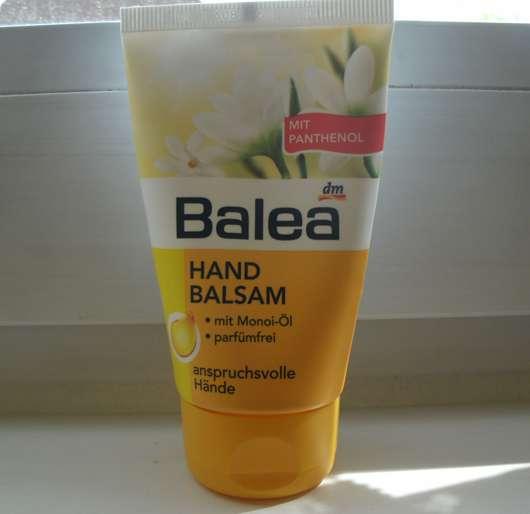 Balea Handbalsam mit Monoiöl