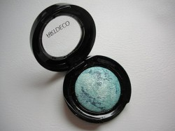 Produktbild zu ARTDECO Baked Eyeshadow – Farbe: marbled blue (LE)