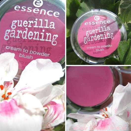 essence guerilla gardening cream to powder blush, Farbe: 01 mission flower (LE)