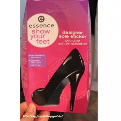 Produktbild zu essence show your feet designer sole sticker – 02 pink is beautiful (LE)