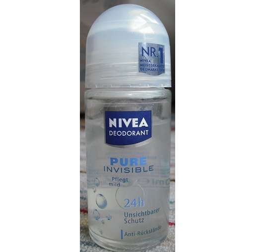 Nivea Pure Invisible 48h Anti-Transpirant Roll-On