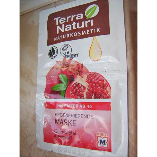 Terra Naturi Regenerierende Maske Granatapfel & Arganöl