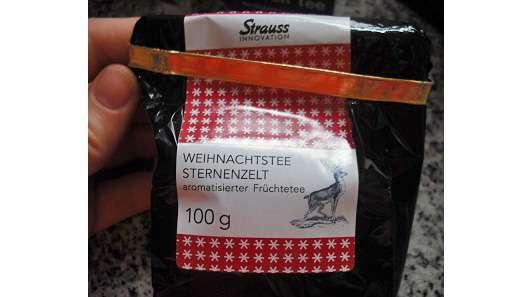 """Strauss Innovation """"Weihnachtstee Sternenzelt"""" aromatisierter Früchtetee"""