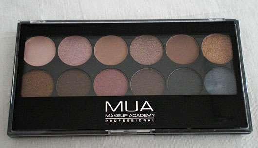 MUA Makeup Academy Eyeshadow Palette, Farbe: Undressed