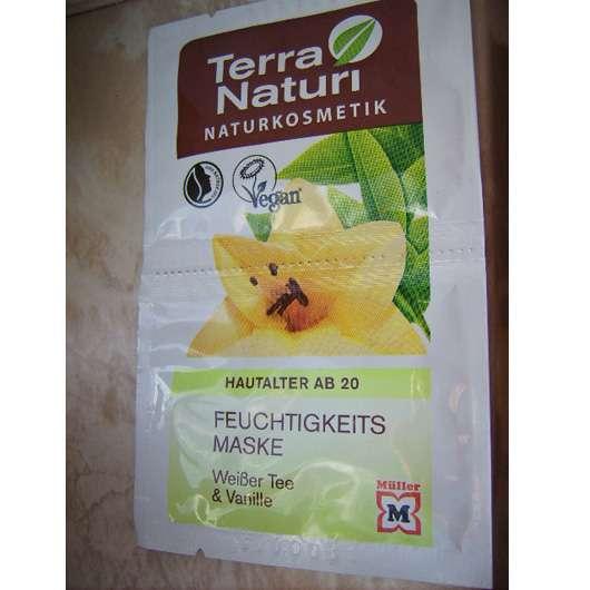 Terra Naturi Feuchtigkeitsmaske Weißer Tee & Vanille