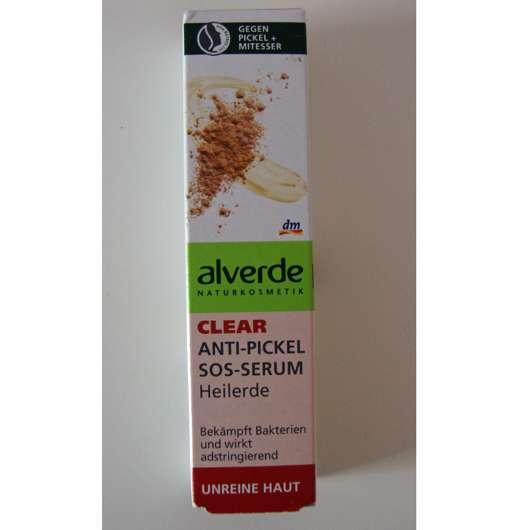 alverde Clear Anti-Pickel SOS-Serum Heilerde