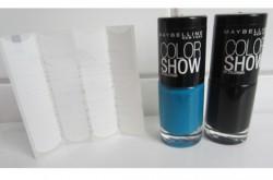 Produktbild zu Maybelline New York Colorshow By Colorama Tip Color Set – Farbe: Schwarz & Türkis (LE)