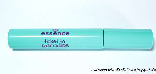 essence ticket to paradise hair mascara, Farbe: 02 dive with me to the island (LE)