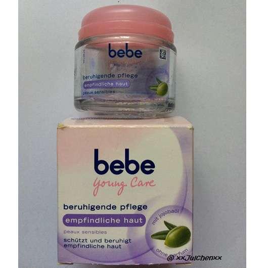 bebe Young Care Beruhigende Pflege für empfindliche Haut