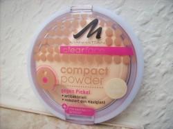 Produktbild zu MANHATTAN CLEARFACE Compact Powder – Farbe: 70 Vanilla