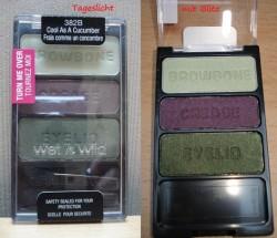 Produktbild zu wet n wild coloricon eye shadow trio – Farbe: 382B cool as a cucumber