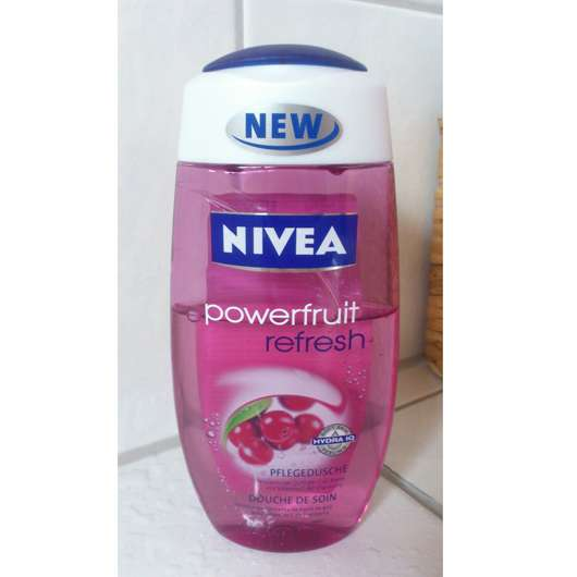 Nivea powerfruit refresh Pflegedusche