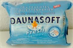 Produktbild zu Dauna Soft Sensitive Feuchtes Toilettenpapier