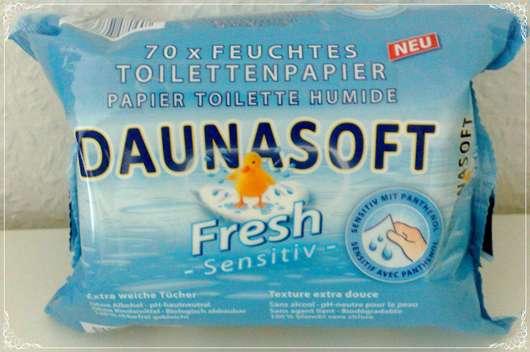 Daunasoft Fresh Sensitive Feuchtes Toilettenpapier