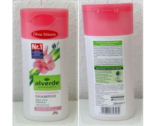 alverde Feuchtigkeits-Shampoo Aloe Vera Hibiskus