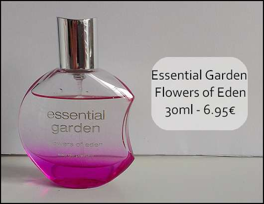 essential garden flowers of eden Eau de Parfum