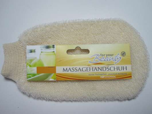 for your Beauty Massagehandschuh