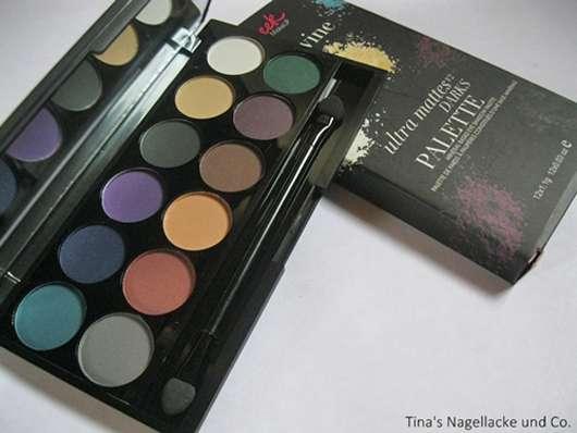 Sleek MakeUP I Divine Ultra Mattes V2 Darks Lidschatten Palette