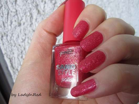 p2 sand style polish, Farbe: 040 illegal