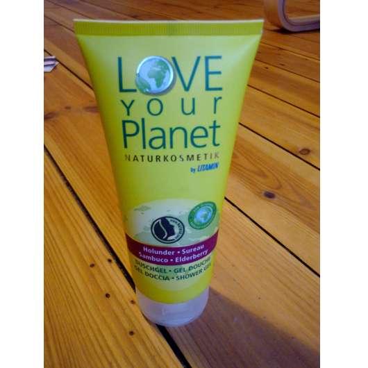 <strong>Love Your Planet Naturkosmetik by Litamin</strong> Holunder Duschgel