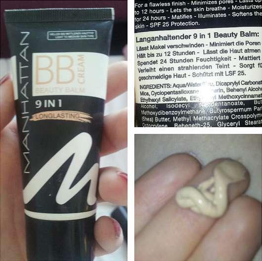 Manhattan BB-Cream 9 in 1 longlasting