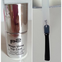 Produktbild zu p2 cosmetics Mega Shine Top Coat
