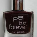 p2 last forever nail polish, Farbe: 120 dangerous affair