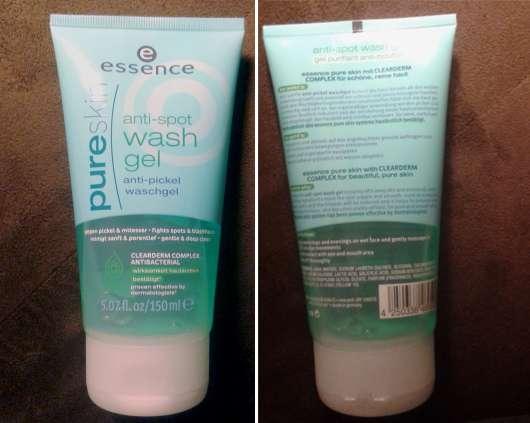 essence pure skin anti-spot wash gel