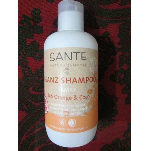 Sante Family Glanz Shampoo Bio-Orange & Coco