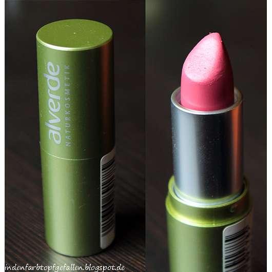 test lippenstift alverde lippenstift farbe 10. Black Bedroom Furniture Sets. Home Design Ideas
