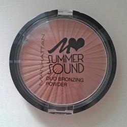 Produktbild zu MANHATTAN Summer Sound Duo Bronzing Powder – Farbe: 01 Summer Glow (LE)