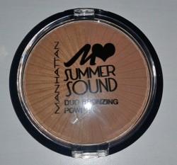 Produktbild zu MANHATTAN Summer Sound Duo Bronzing Powder – Farbe: 02 Bronze Rockers (LE)