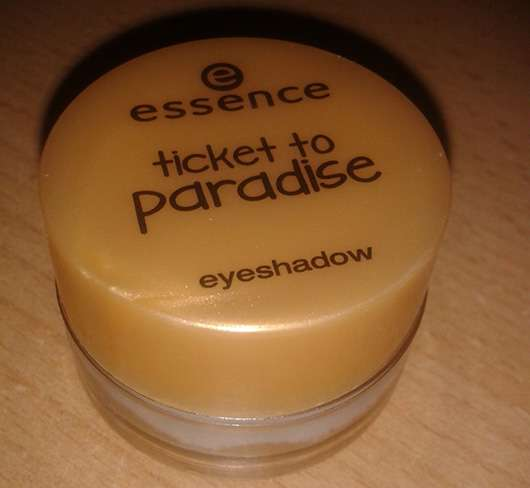 essence ticket to paradise eyeshadow, Farbe: 03 tropical heat (LE)