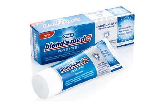 Oral-B blend-a-med Pro-Expert Zahncreme-Linie